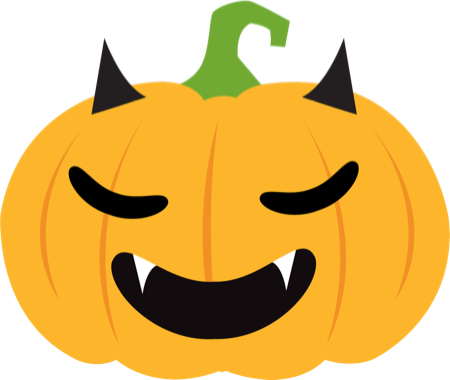 Pumpkin Halloween Emoji Sticker #1 messages sticker-3