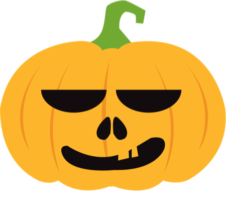 Pumpkin Halloween Emoji Sticker #1 messages sticker-8