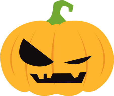 Pumpkin Halloween Emoji Sticker #1 messages sticker-4
