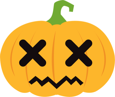 Pumpkin Halloween Emoji Sticker #1 messages sticker-7