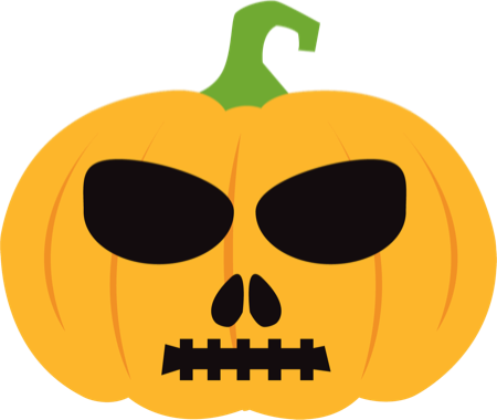 Pumpkin Halloween Emoji Sticker #1 messages sticker-9