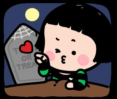 Happy Halloween with MiM! - Mango Sticker messages sticker-11