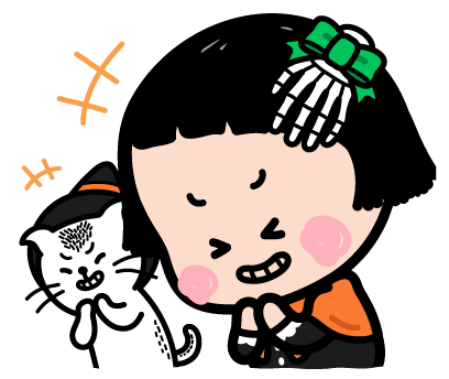 Happy Halloween with MiM! - Mango Sticker messages sticker-1