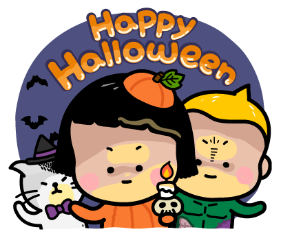 Happy Halloween with MiM! - Mango Sticker messages sticker-0