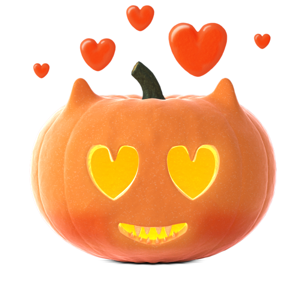 Cat O'Lanterns - Halloween Cat Pumpkins stickers messages sticker-0