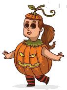 Halloween Sticker,  Emoji - Fv Pack 01 messages sticker-5