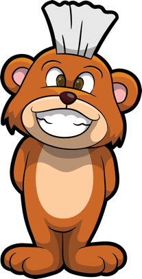 Brushy Bear messages sticker-9