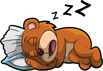 Brushy Bear messages sticker-11