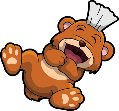 Brushy Bear messages sticker-4