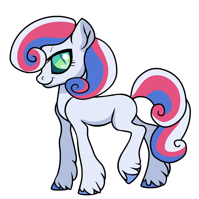 Unicorn Pegasus Pony Stickers messages sticker-3