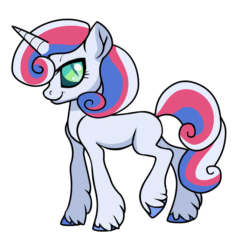 Unicorn Pegasus Pony Stickers messages sticker-7