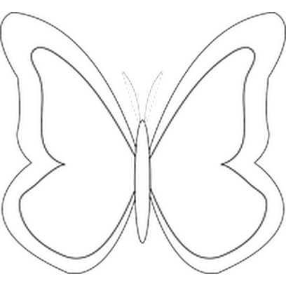 Butterflies Three messages sticker-11