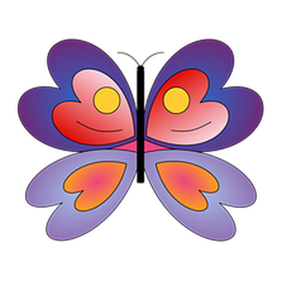 Butterflies Three messages sticker-8