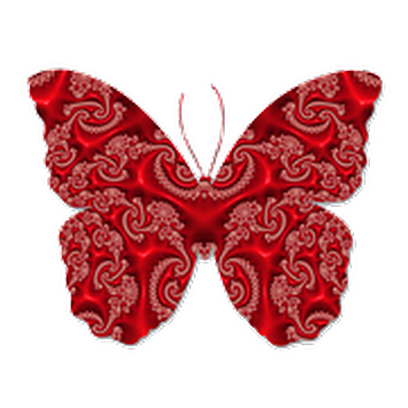 Butterflies Three messages sticker-4