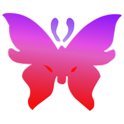 Butterflies Three messages sticker-10