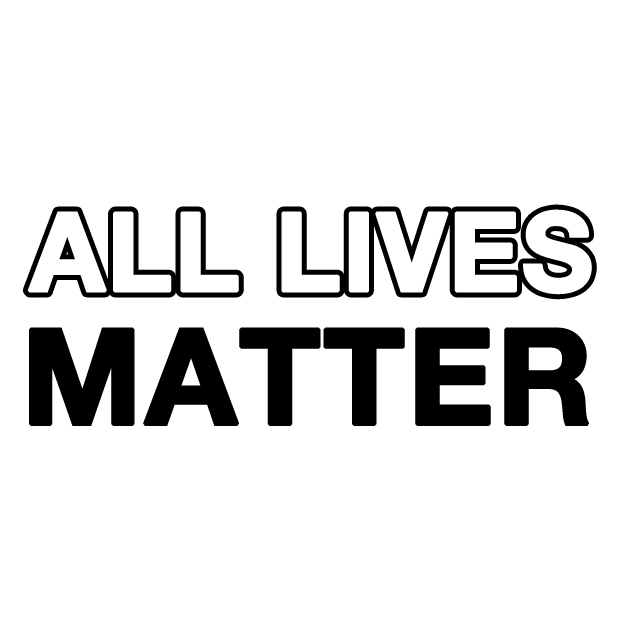 All Lives Matter Stickers messages sticker-0