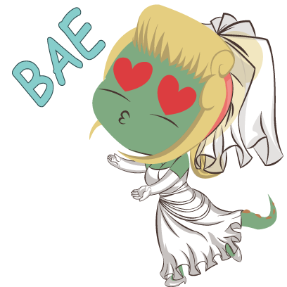 Bridezilla by Planestry messages sticker-5