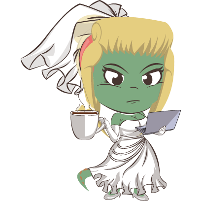 Bridezilla by Planestry messages sticker-10