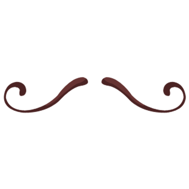 Classic Hipsters Mustache Sticker Pack messages sticker-0