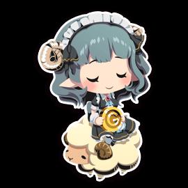 Our dark lord - Sasuyu 2 - messages sticker-3