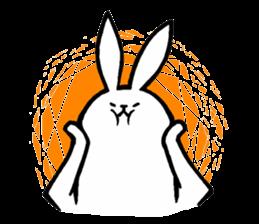 Weird Long Leg Rabbit - Stickers for iMessage messages sticker-1
