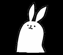 Weird Long Leg Rabbit - Stickers for iMessage messages sticker-10