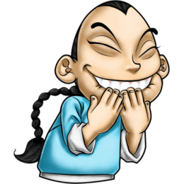 Master Fu Meets the World stickers by Choppic messages sticker-9