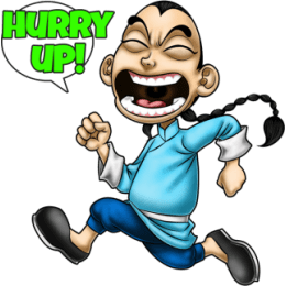 Master Fu Meets the World stickers by Choppic messages sticker-11