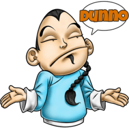 Master Fu Meets the World stickers by Choppic messages sticker-6