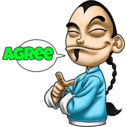 Master Fu Meets the World stickers by Choppic messages sticker-1