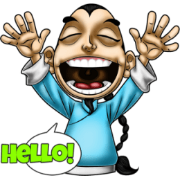 Master Fu Meets the World stickers by Choppic messages sticker-10
