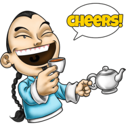 Master Fu Meets the World stickers by Choppic messages sticker-3