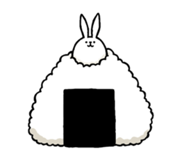 Weird long leg rabbit 2 - Stickers for iMessage messages sticker-8