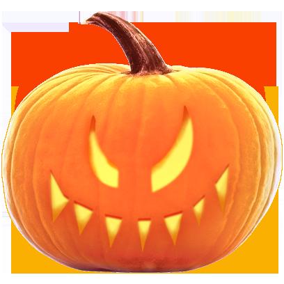 Jack-o-Lantern Halloween Pumpkin Sticker Pack messages sticker-10