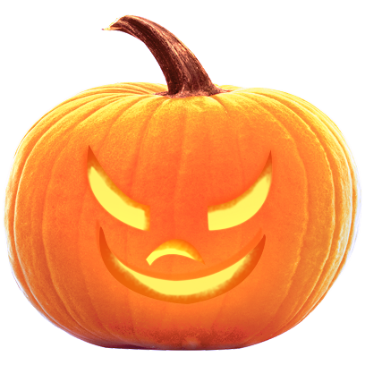 Jack-o-Lantern Halloween Pumpkin Sticker Pack messages sticker-5
