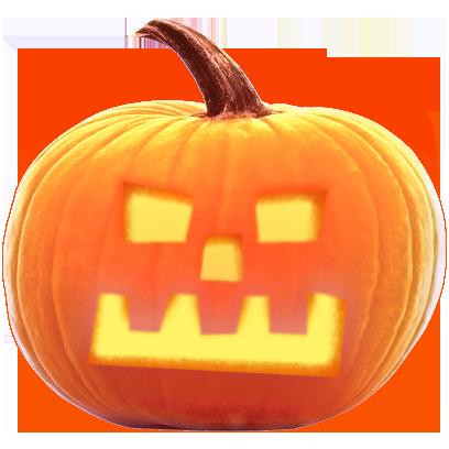Jack-o-Lantern Halloween Pumpkin Sticker Pack messages sticker-9