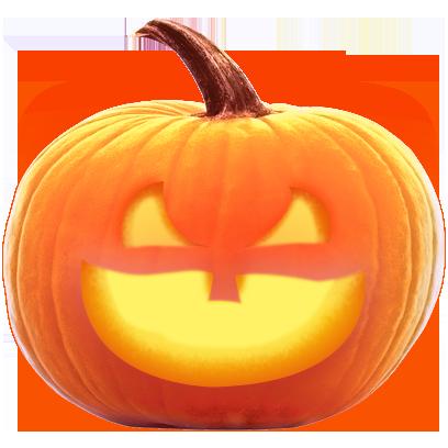 Jack-o-Lantern Halloween Pumpkin Sticker Pack messages sticker-4