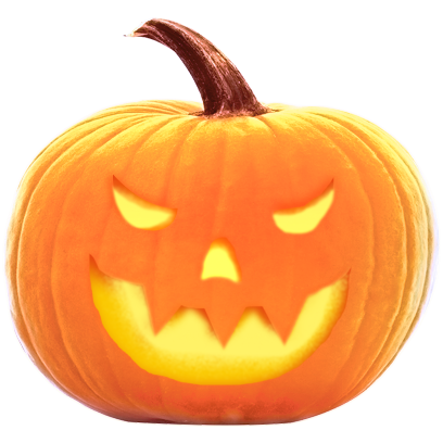 Jack-o-Lantern Halloween Pumpkin Sticker Pack messages sticker-11