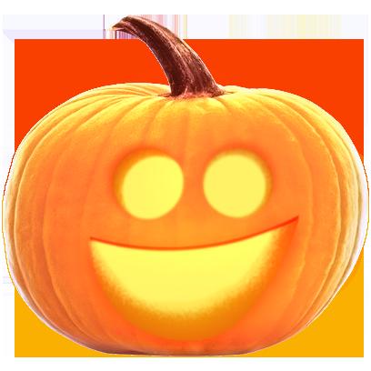 Jack-o-Lantern Halloween Pumpkin Sticker Pack messages sticker-8