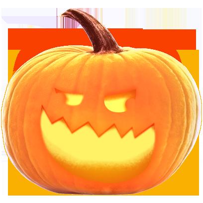 Jack-o-Lantern Halloween Pumpkin Sticker Pack messages sticker-7