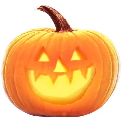 Jack-o-Lantern Halloween Pumpkin Sticker Pack messages sticker-3
