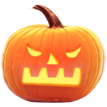 Jack-o-Lantern Halloween Pumpkin Sticker Pack messages sticker-2