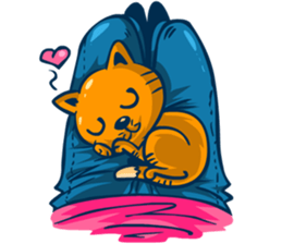 Dooral the silly cat - Stickers for iMessage messages sticker-0
