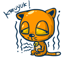 Dooral the silly cat - Stickers for iMessage messages sticker-7
