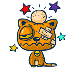 Dooral the silly cat - Stickers for iMessage messages sticker-10