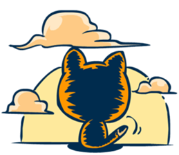 Dooral the silly cat - Stickers for iMessage messages sticker-8