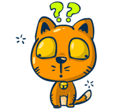Dooral the silly cat - Stickers for iMessage messages sticker-5