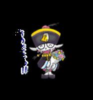 Zombie Ghost Sticker - Emoji messages sticker-9