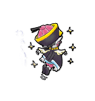 Zombie Ghost Sticker - Emoji messages sticker-6