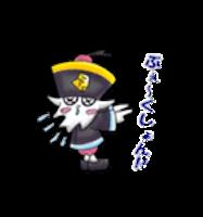 Zombie Ghost Sticker - Emoji messages sticker-10
